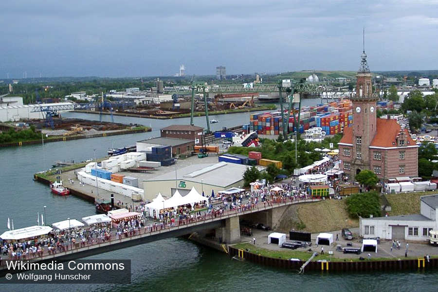 Дортмунд, речной порт