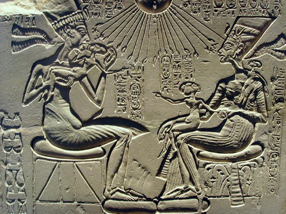 Картинки нефертити и эхнатона
